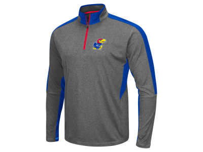 Kansas Jayhawks Colosseum NCAA Men's Atlas Quarter Zip Pullover