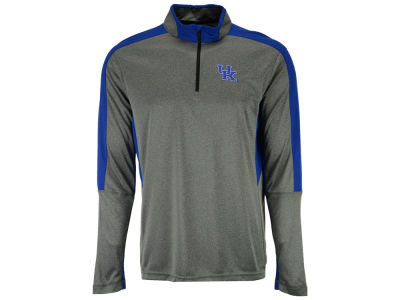 Kentucky Wildcats Colosseum NCAA Men's Atlas Quarter Zip Pullover