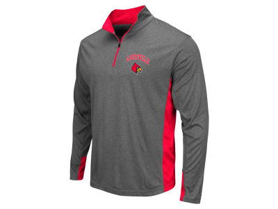 Louisville Cardinals Colosseum NCAA Men's Atlas Quarter Zip Pullover