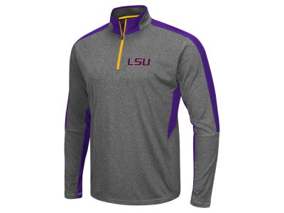 LSU Tigers Colosseum NCAA Men's Atlas Quarter Zip Pullover