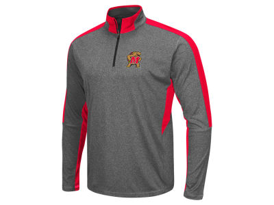 Maryland Terrapins Colosseum NCAA Men's Atlas Quarter Zip Pullover