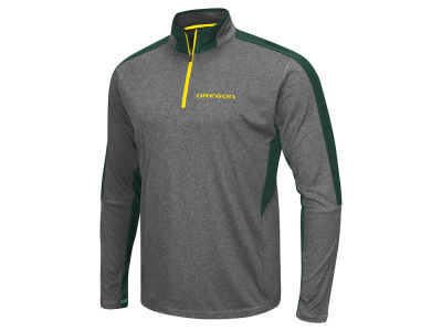 Oregon Ducks Colosseum NCAA Men's Atlas Quarter Zip Pullover