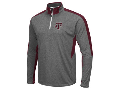 Texas A&M Aggies Colosseum NCAA Men's Atlas Quarter Zip Pullover