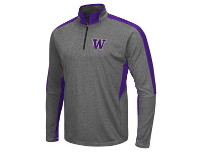 Washington Huskies Colosseum NCAA Men's Atlas Quarter Zip Pullover