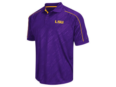 LSU Tigers Colosseum NCAA Men's Sleet Polo Shirt