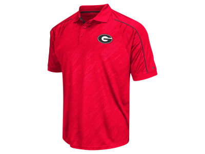 Georgia Bulldogs Colosseum NCAA Men's Sleet Polo Shirt