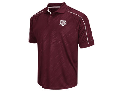 Texas A&M Aggies Colosseum NCAA Men's Sleet Polo Shirt