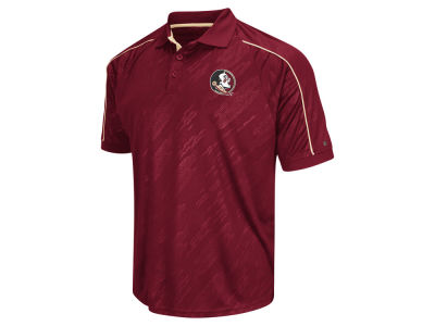 Florida State Seminoles Colosseum NCAA Men's Sleet Polo Shirt