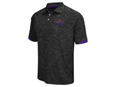 LSU Tigers Colosseum NCAA Men's Spiral II Polo Shirt