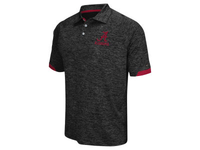 Alabama Crimson Tide Colosseum NCAA Men's Spiral II Polo Shirt