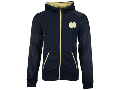 Notre Dame Fighting Irish Colosseum NCAA Men's Sleet Embossed Full Zip Hoodie
