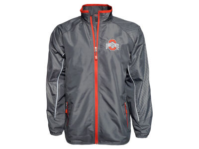 Ohio State Buckeyes J America NCAA Men's Quarterback Jacket