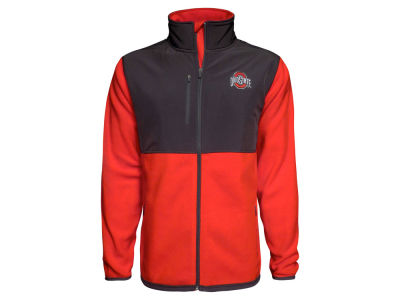 Ohio State Buckeyes J America NCAA Men's Rainier Microfleece Jacket