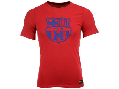 FC Barcelona Nike Men's Club Team Youth Core Crest T-Shirt
