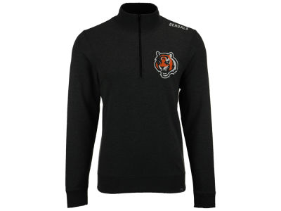 Cincinnati Bengals '47 NFL Men's Forward Compete Quarter Zip Pullover
