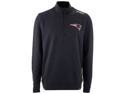 New England Patriots '47 NFL Men's Forward Compete Quarter Zip Pullover