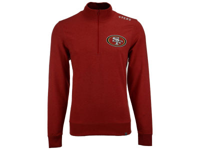 San Francisco 49ers '47 NFL Men's Forward Compete Quarter Zip Pullover