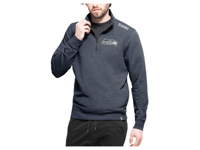 Seattle Seahawks '47 NFL Men's Forward Compete Quarter Zip Pullover