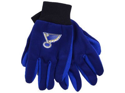 St. Louis Blues Team Color Palm Gloves