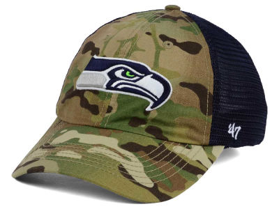 Seattle Seahawks '47 NFL Compass '47 CLOSER Cap