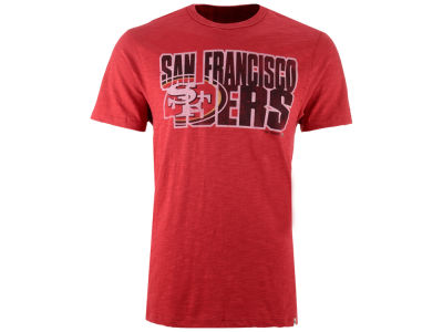 San Francisco 49ers '47 NFL Men's Wordmark Scrum T-Shirt