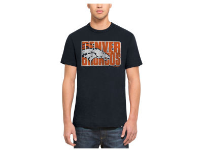 Denver Broncos '47 NFL Men's Wordmark Scrum T-Shirt