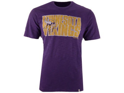 Minnesota Vikings '47 NFL Men's Wordmark Scrum T-Shirt