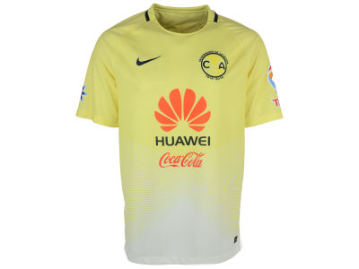 Club America Nike Men's Club Team Home Stadium Jersey