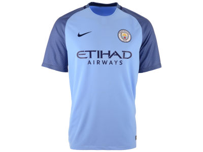 Manchester City Nike Men's Club Team Home Stadium Jersey