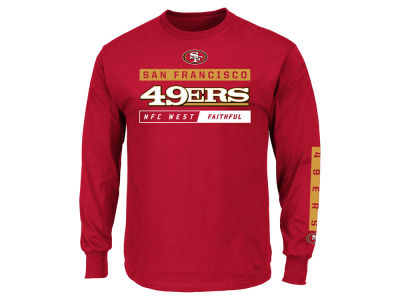 San Francisco 49ers NFL Men's Primary Receiver Long Sleeve T-Shirt