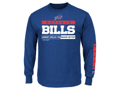 Buffalo Bills NFL Men's Primary Receiver Long Sleeve T-Shirt