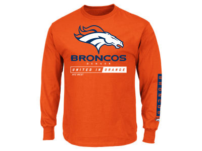 Denver Broncos NFL Men's Primary Receiver Long Sleeve T-Shirt