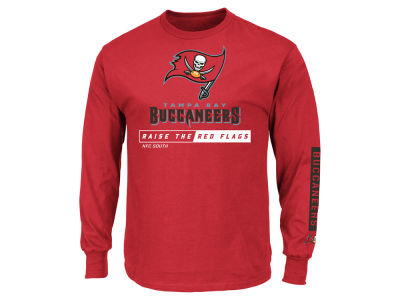 Tampa Bay Buccaneers NFL Men's Primary Receiver Long Sleeve T-Shirt