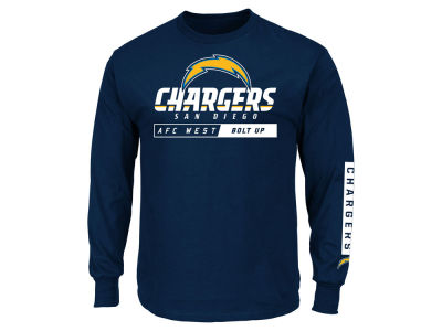 Los Angeles Chargers NFL Men's Primary Receiver Long Sleeve T-Shirt