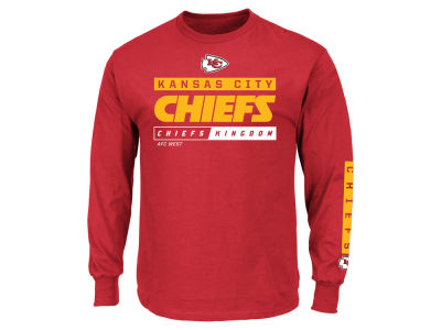 Kansas City Chiefs NFL Men's Primary Receiver Long Sleeve T-Shirt
