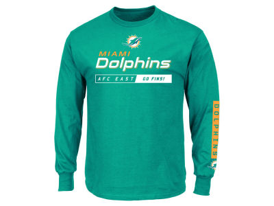 Miami Dolphins NFL Men's Primary Receiver Long Sleeve T-Shirt