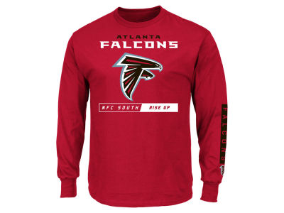 Atlanta Falcons NFL Men's Primary Receiver Long Sleeve T-Shirt