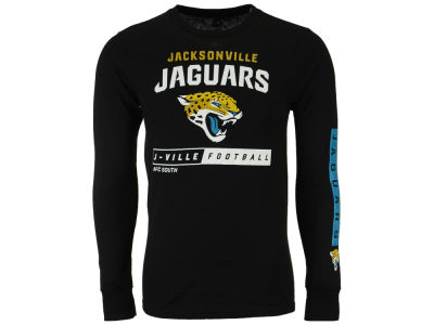 Jacksonville Jaguars NFL Men's Primary Receiver Long Sleeve T-Shirt