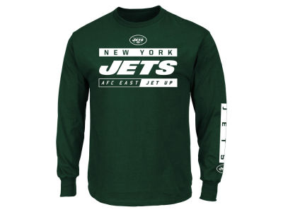 New York Jets NFL Men's Primary Receiver Long Sleeve T-Shirt