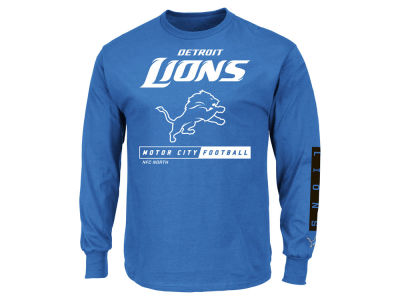 Detroit Lions NFL Men's Primary Receiver Long Sleeve T-Shirt