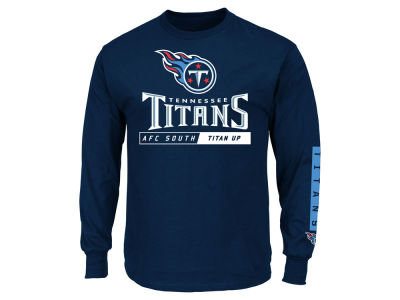 Tennessee Titans NFL Men's Primary Receiver Long Sleeve T-Shirt