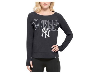 New York Yankees '47 MLB Women's React Crew Sweatshirt