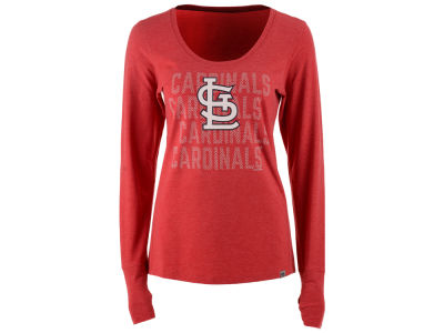 St. Louis Cardinals '47 MLB Women's Forward Long Sleeve T-Shirt