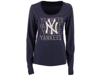 New York Yankees '47 MLB Women's Forward Long Sleeve T-Shirt