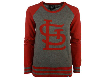 St. Louis Cardinals '47 MLB Women's Nep Sweater