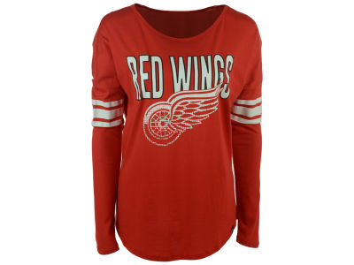 Detroit Red Wings '47 NHL Women's Courtside Long Sleeve T-Shirt