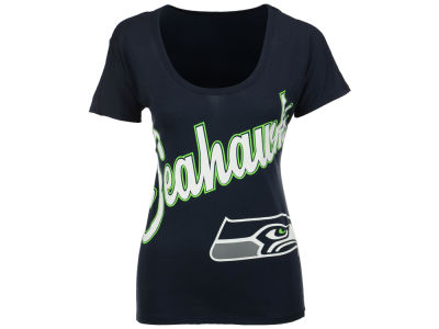 Seattle Seahawks '47 NFL Women's Roundoff T-Shirt