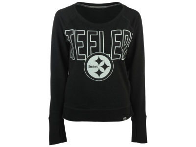 Pittsburgh Steelers '47 NFL Women's React Crew Sweatshirt