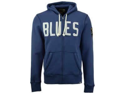 St. Louis Blues '47 NHL Men's Cross Check Full Zip Hoodie