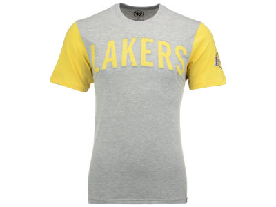 Los Angeles Lakers '47 NBA Men's Triple Up T-Shirt